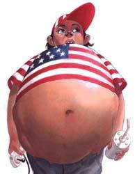 Obese america picture